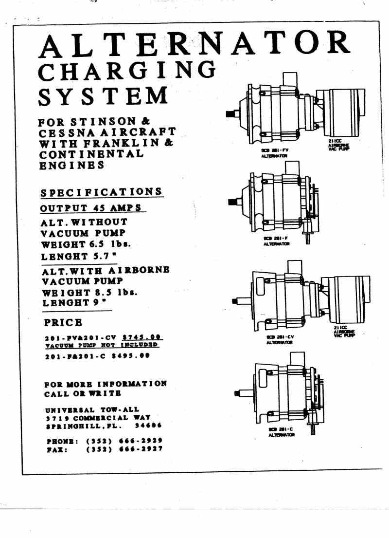 alternator conversion stan bedford brochure page 2 introduction electrical diagram